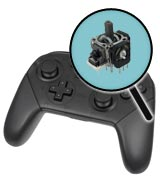 Nintendo Switch Repairs: Pro Controller Single Analog Joystick Replacement Service