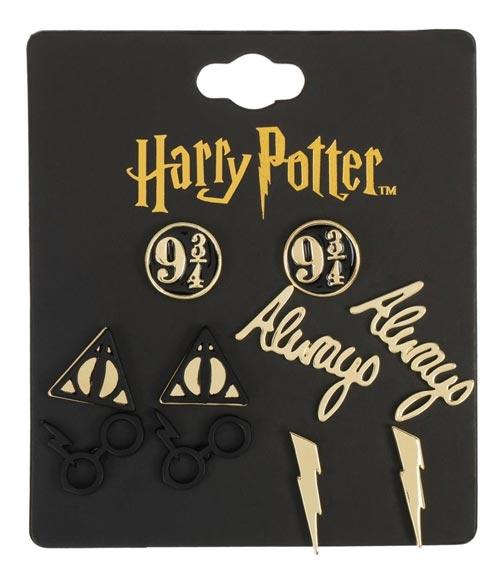 Harry Potter 5 Pack Earring Set