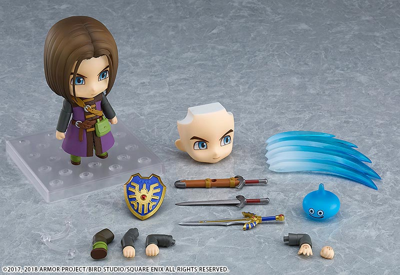 Dragon Quest XI Luminary Nendoroid all items
