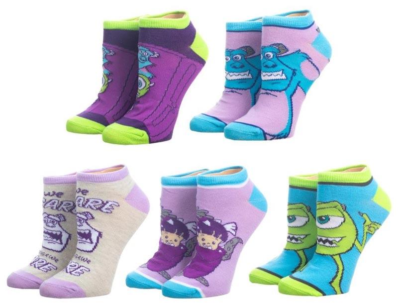 Monsters Inc Ankle Socks 5PK all socks