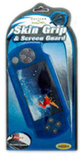 PSP Skin Grip & Screen Guard Blue