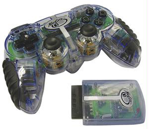PS2 Lynx 2.4 Ghz Wireless Controller by MadCatz