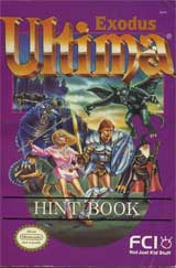 Ultima Exodus Hint Book