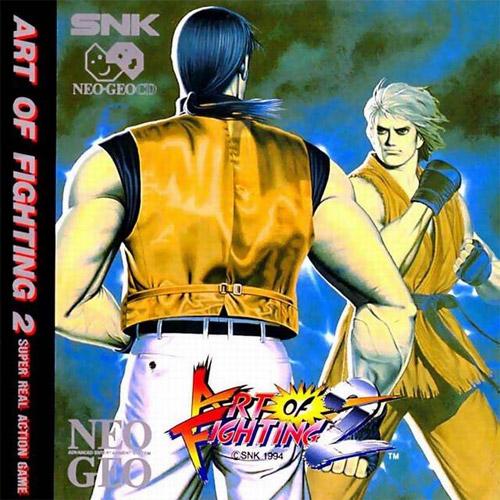 Art of Fighting 2 Neo Geo CD