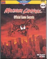 Spiderman Maximum Carnage Prima's Official Game Secrets