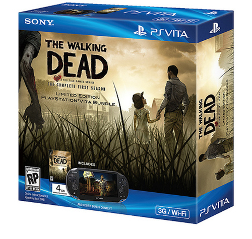 PlayStation Vita with Wi-Fi and 3G: Walking Dead Bundle