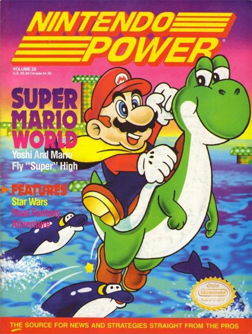 Nintendo Power Volume 28: Super Mario World