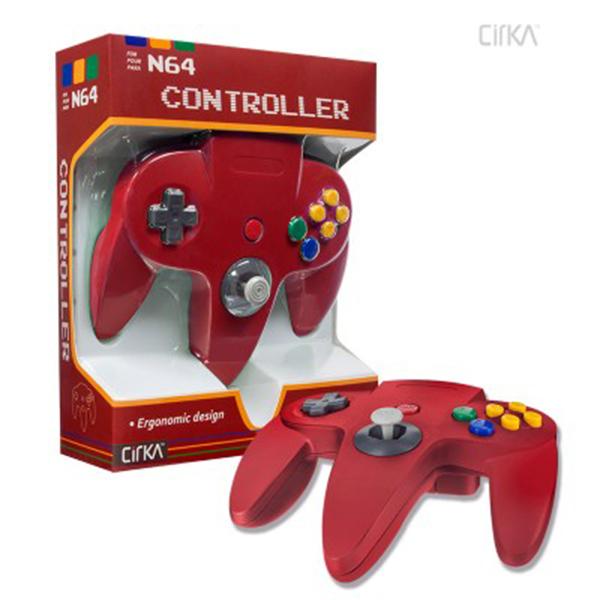 N64 Cirka Controller Red
