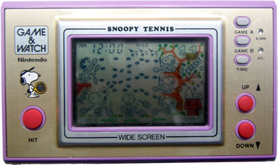 Game & Watch Wide Screen Series: Snoopy Tennis