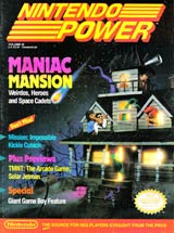 Nintendo Power Volume 16 Maniac Mansion