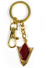 Legend of Zelda Goron's Ruby Keychain