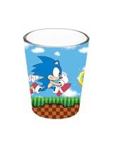 Sonic Running Shot Glass