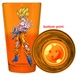 Dragon Ball Z Super Saiyan Goku Pint Glass