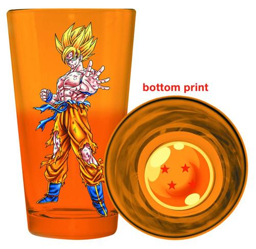 Dragon Ball Z Super Saiyan Goku Pint Glass