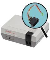 Nintendo NES Repairs: Controller Port Replacement Service