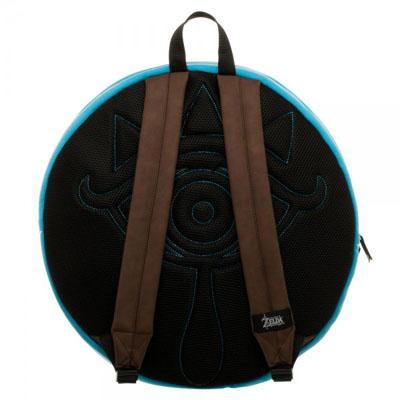 Legend of Zelda Breath of the Wild Shield Backpack Back