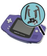 Game Boy Advance Repairs: Button Replacement Service