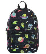 Rick & Morty Space All-Over Print Sublimated Backpack