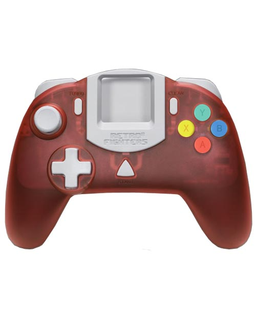 Dreamcast StrikerDC Red Controller by Retro Fighters