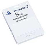PS2 Memory Card Ceramic White by Sony