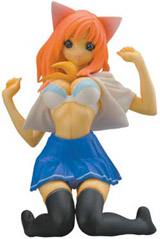 Tsukasa Nambu PVC Statue Orange Hair Version