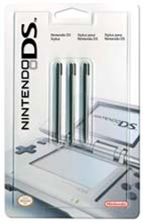 Nintendo DS Stylus 3-Pack by Nintendo