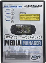 PSP Gameshark Media Manager