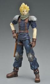 Final Fantasy Crisis Core Play Arts Cloud Strife Action Figure