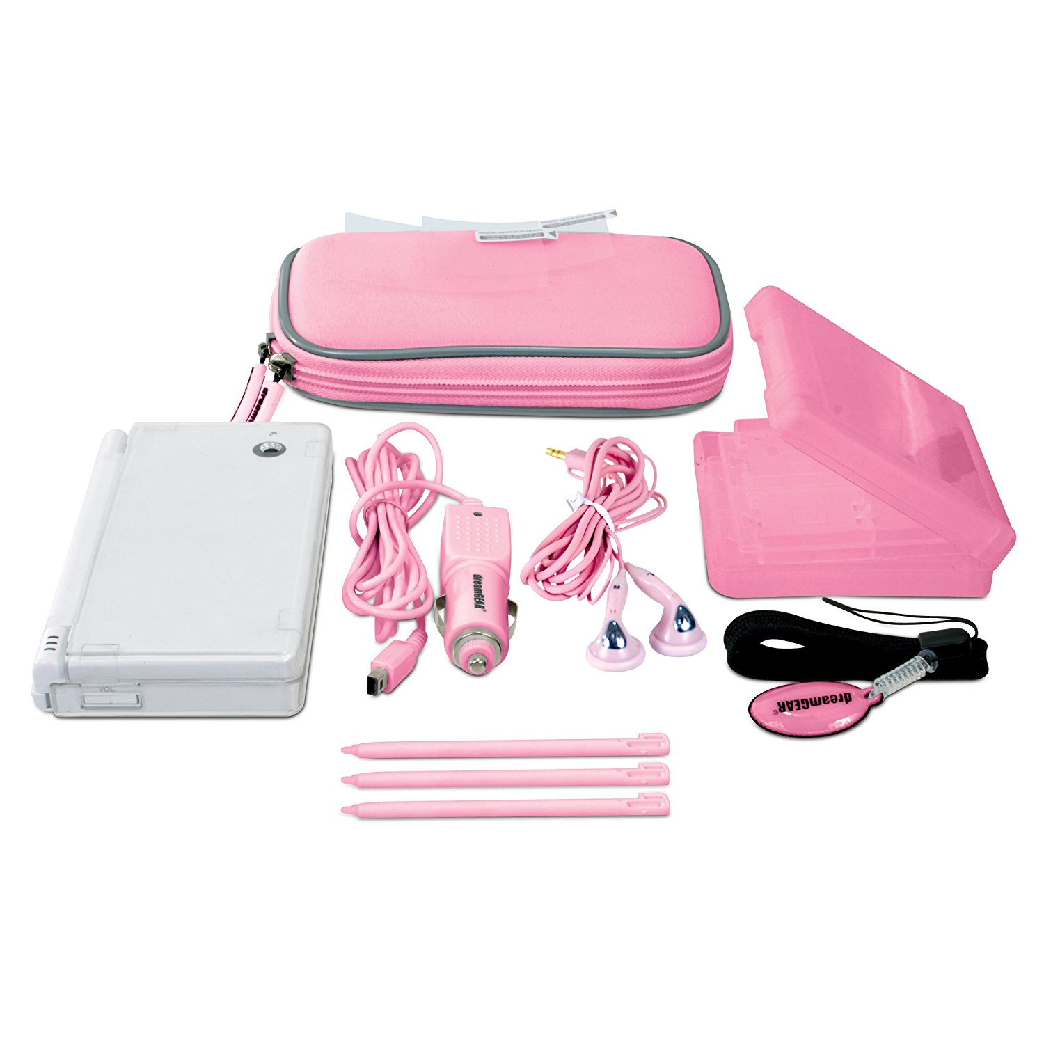 DSi 10-in-1 Starter Kit Pink by DreamGear