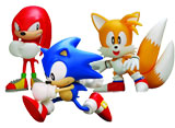 Sonic the Hedgehog Classic 5-inch Action Figure Set of 3