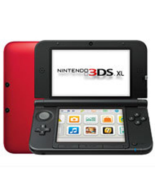 Nintendo 3DS XL System Red