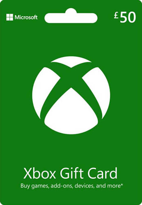 Xbox 360 Live $50 Card