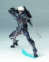 Revoltech Yamaguchi Metal Gear Solid: Revengence Raiden Action Figure