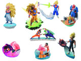 Dragon Ball Z Threaten Majin Buu Capsule R Trading Figures