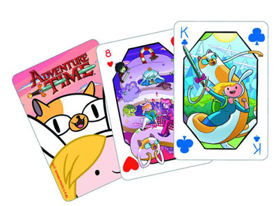Adventure Time Fionna & Jake Playing Cards