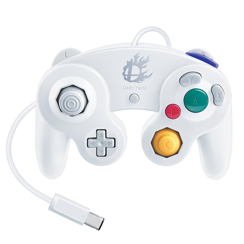 GameCube Super Smash Bros. Edition Controller White
