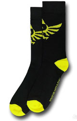 Legend of Zelda: Skyward Sword Black Crew Socks