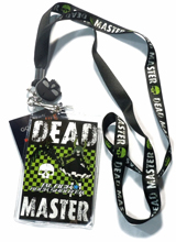 Black Rock Shooter Dead Master Lanyard With Charm