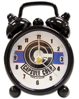Dragon Ball Z Capsule Corp Mini Desk Clock