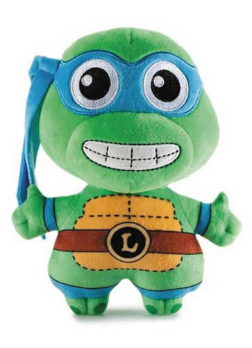 Teenage Mutant Ninja Turtles Phunny Leonardo 8 Inch Plush