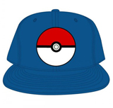 Pokemon Pokeball Blue Snapback