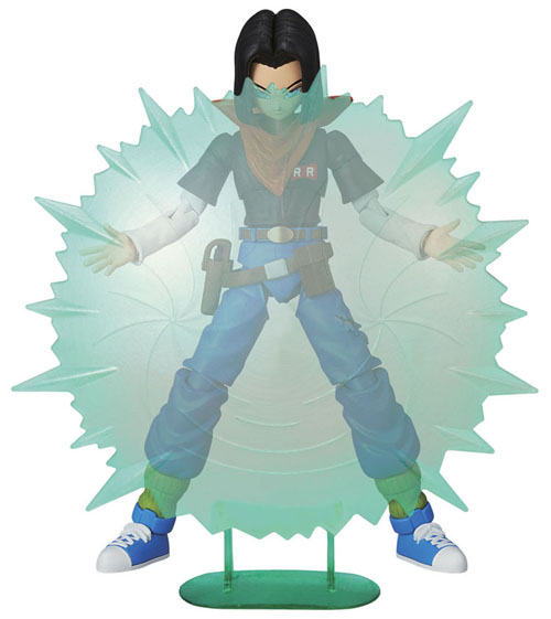 Dragon Ball Z Android 17 Figure Rise Model Kit