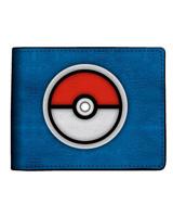 Pokemon Pokeball Blue Bi-Fold Wallet