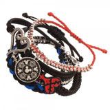 Kingdom Hearts Arm Party 5 Bracelet Set