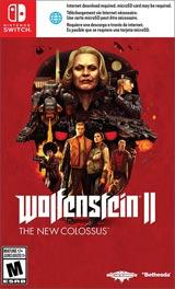 NSW Wolfenstein II: The New Colossus Boxart