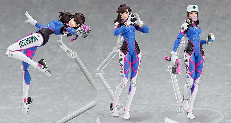Overwatch DVa Figure AF additional poses