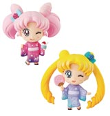 Sailor Moon Petit Chara 2 Pack Set Kyoto Marubeni Version