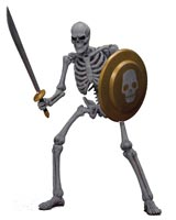 Golden Axe: Skeleton Soldier Storm Collectibles Action Figure 2-Pack