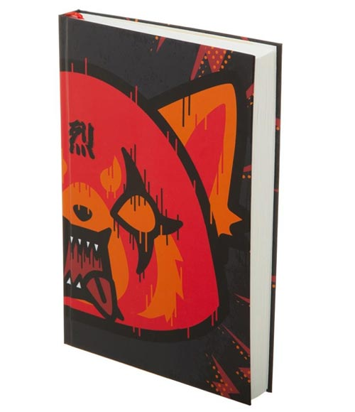Aggretsuko Death Metal Hardcover Journal