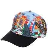 Godzilla Kaiju Battle All Over Print Pre-Curved Snapback Hat
